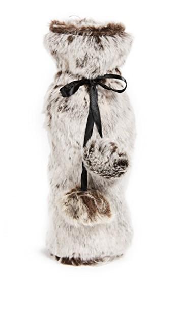 Gift Boutique fur faux fur bag grey