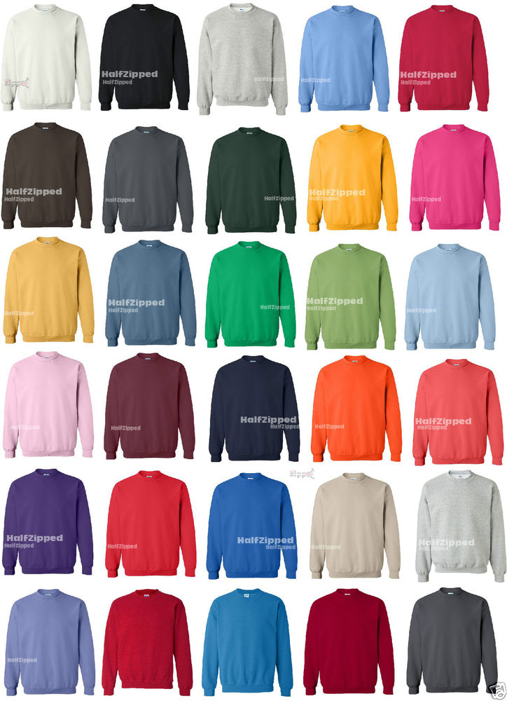 Gildan Heavy Blend Crewneck Sweatshirt 18000 s XL New | eBay