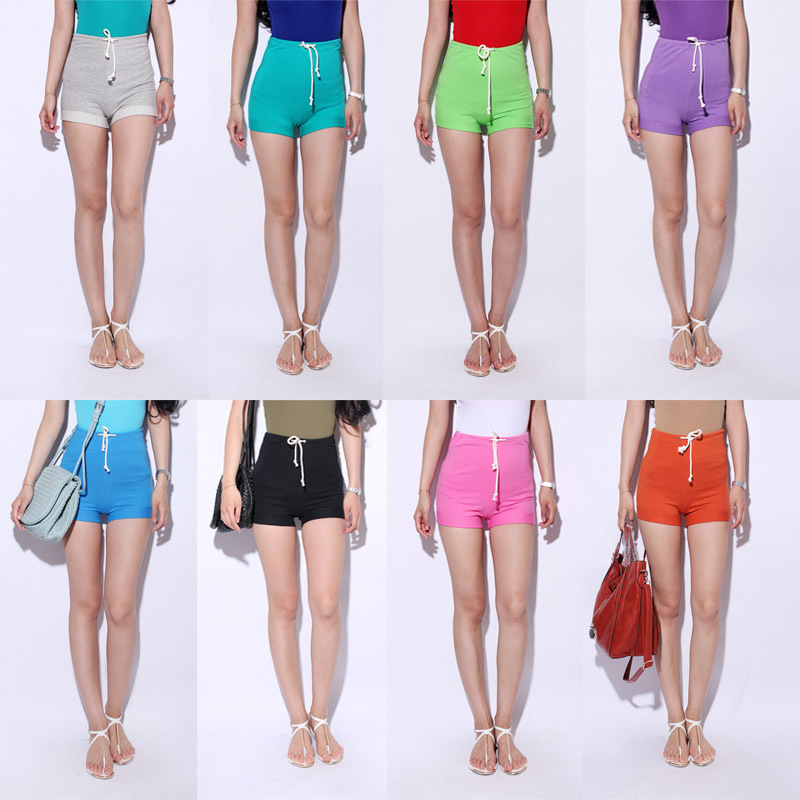 com : Buy High waist drawstring women's comfortable cotton high ...