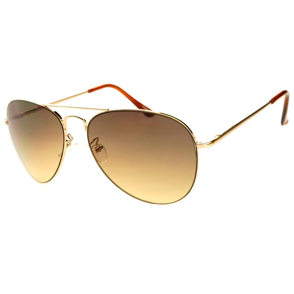 Classic mens womens two tone lens metal aviator sunglasses a1740 – freyrs