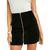 Feelin It Suede A-line Skirt by MINKPINK
