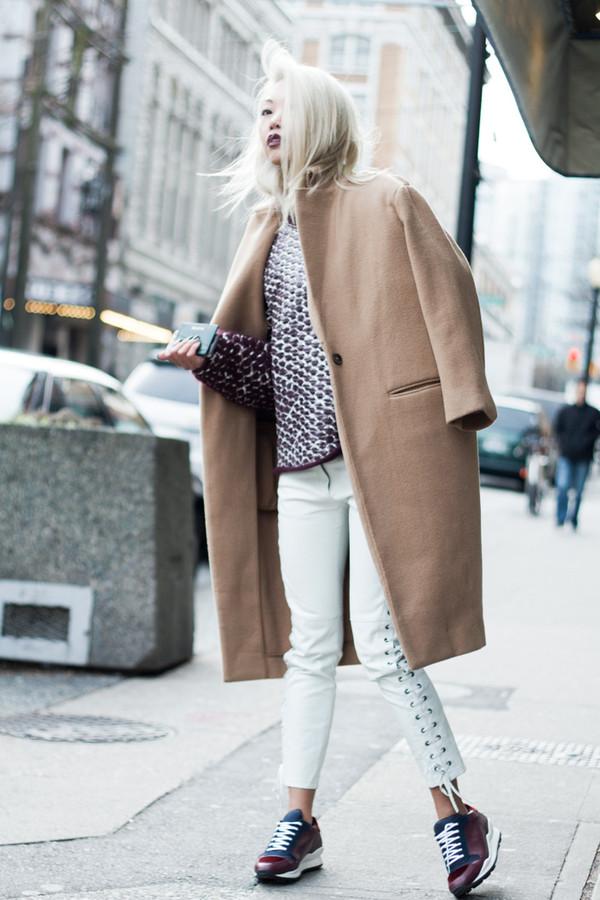 the haute pursuit sweater coat pants shoes sunglasses jewels