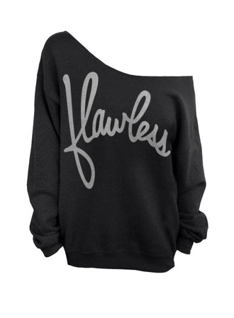 flawless off the shoulder sweater sweater