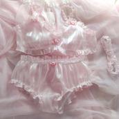 underwear,lingerie,transparent,pink,flowers,pink rose,rose,lingerie set,pink lingerie