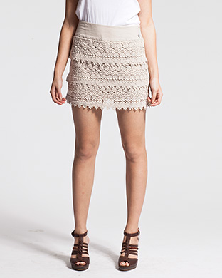Shop : jupe courte l vãªtements de marque ikks  l jupes