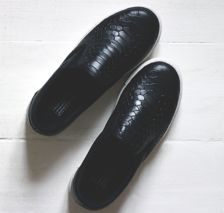 New in: reptile slip-ons | passionsforfashion