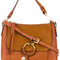 See by chloé - 'joan' bag - women - calf leather/suede - one size, brown, calf leather/suede