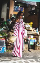 pants,tumblr,wide-leg pants,stripes,striped pants,off the shoulder,off the shoulder top,matching set,co ord,top
