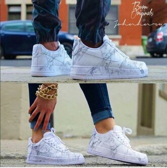 shoes nike marble low top sneakers