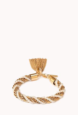 City Chic Tassel Bracelet | FOREVER21 - 1000076200