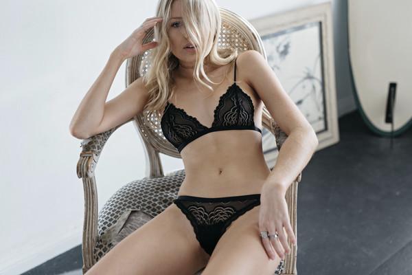 underwear lace black black lace black briefs lingerie mosmann