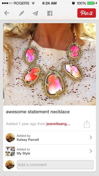 pinterest jewels statement necklace neckalace colourful necklace