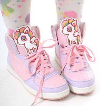 unicorn sneakers high top sneakers