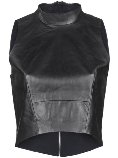 A.o.t.c. Back Slit Sleeveless Top - Curve - Farfetch.com