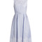 Mara broderie-anglaise striped-cotton dress