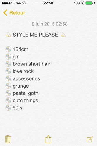 sweater style me skirt dress girl rock accessories grunge wishlist cute outfits 90s style 90s grunge crop tops american apparel shoes cute grunge pastel goth