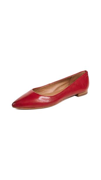 ballet flats ballet flats red shoes