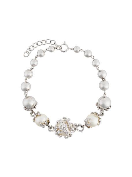 Kasun London women silver grey metallic jewels