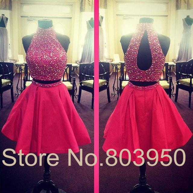 Aliexpresscom Buy 8th Grade Prom Dress Fashion Two Piece Party