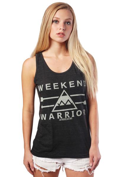 Weekend warrior tank top