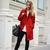 Red coat in Soho - thevogueword.com