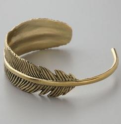 La mode exquise qualité vintage. feuilles, bracelet manchette dans de sur Aliexpress.com