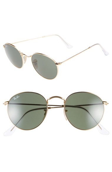 Ray-Ban 50mm Rounded Sunglasses | Nordstrom