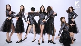 jumpsuit rainbow black swan romper kpop k-pop kpop outfit kpop star