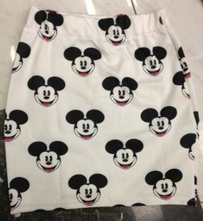 Taobao Especially outside the single European and American harajuku mickey mouse avatar MICKEY hip skirt skirt printingusotsnrnlmg from English Agent:BuyChina.com