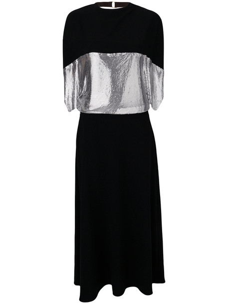 J.W.Anderson dress jersey dress women embellished black