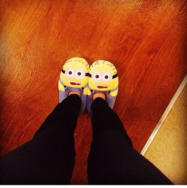 shoes minions slippers