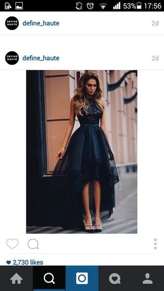 dress black dress j lo dress high low dress