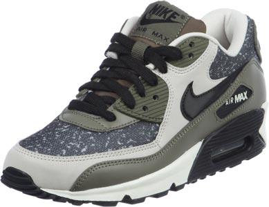 uk availability f8119 28762 Nike Air Max 90 W Schuhe beige oliv