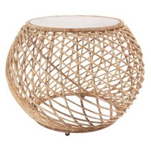 Lagoona 48cm Round Side Table Freedom Furniture And Homewares