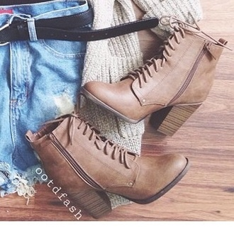 shoes brown booties brown shoes brown\