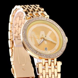 jewels menswear women ladies watch watches for women gold rhinestones michael kors michael kors watch