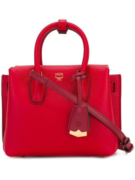 MCM mini women red bag