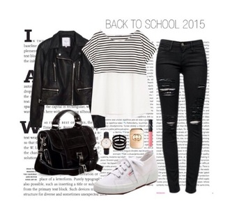 shirt black stripes fashion mode backtoschoo white striped shirt