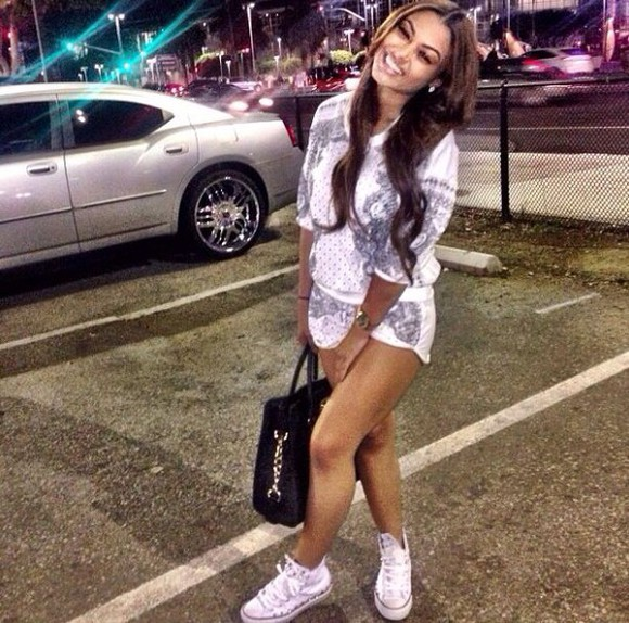 shorts romper india westbrooks crewneck