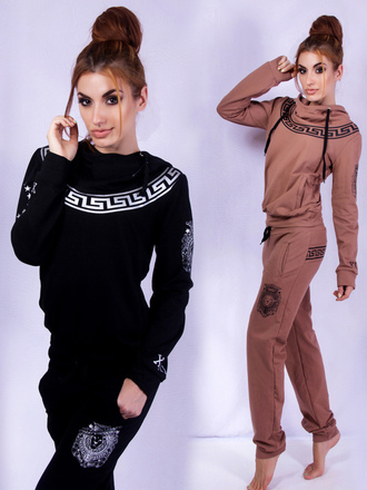 pants zefinka set sportswear outfit outfit idea fall outfits