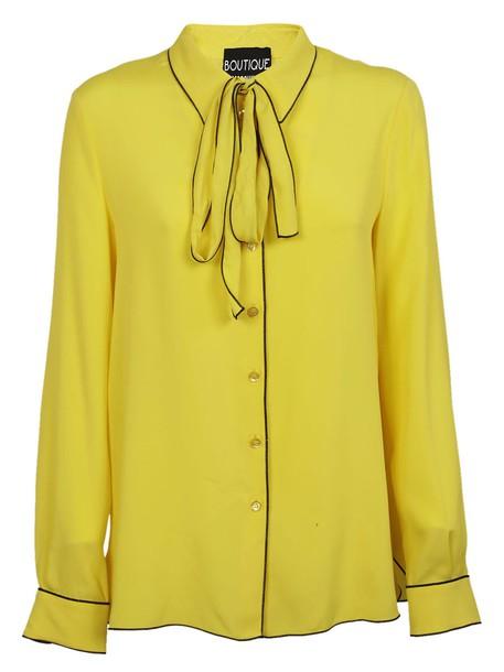 Moschino shirt bow top