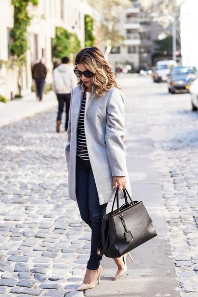 stripes the corporate catwalk blogger bag sunglasses
