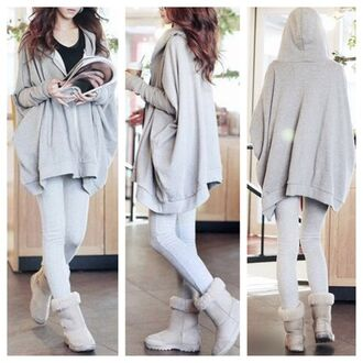 cardigan oversized sweater hoodie sweater coat grey sweater fall outfits fashion outfit girly winter sweater streetwear style cute clothes jacket