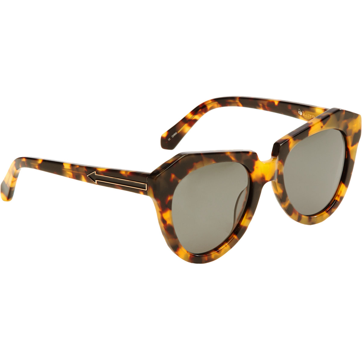 Karen Walker Number One Sunglasses at Barneys.com