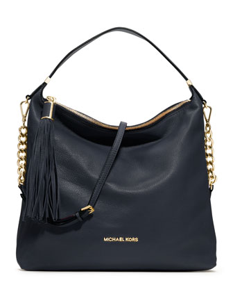 MICHAEL Michael Kors  Large Weston Pebbled Shoulder Bag - Michael Kors