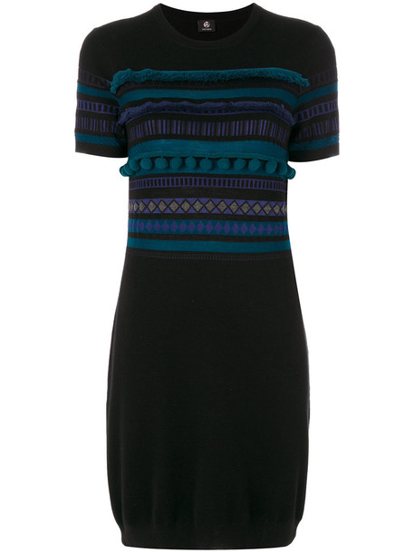 PS By Paul Smith dress knitted dress women black wool