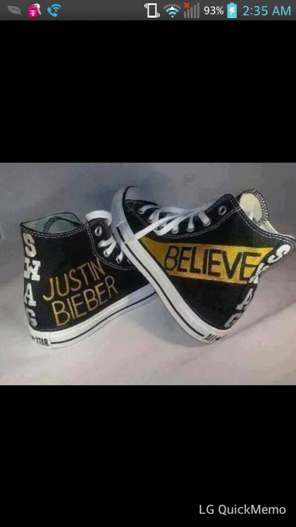 shoes justin bieber