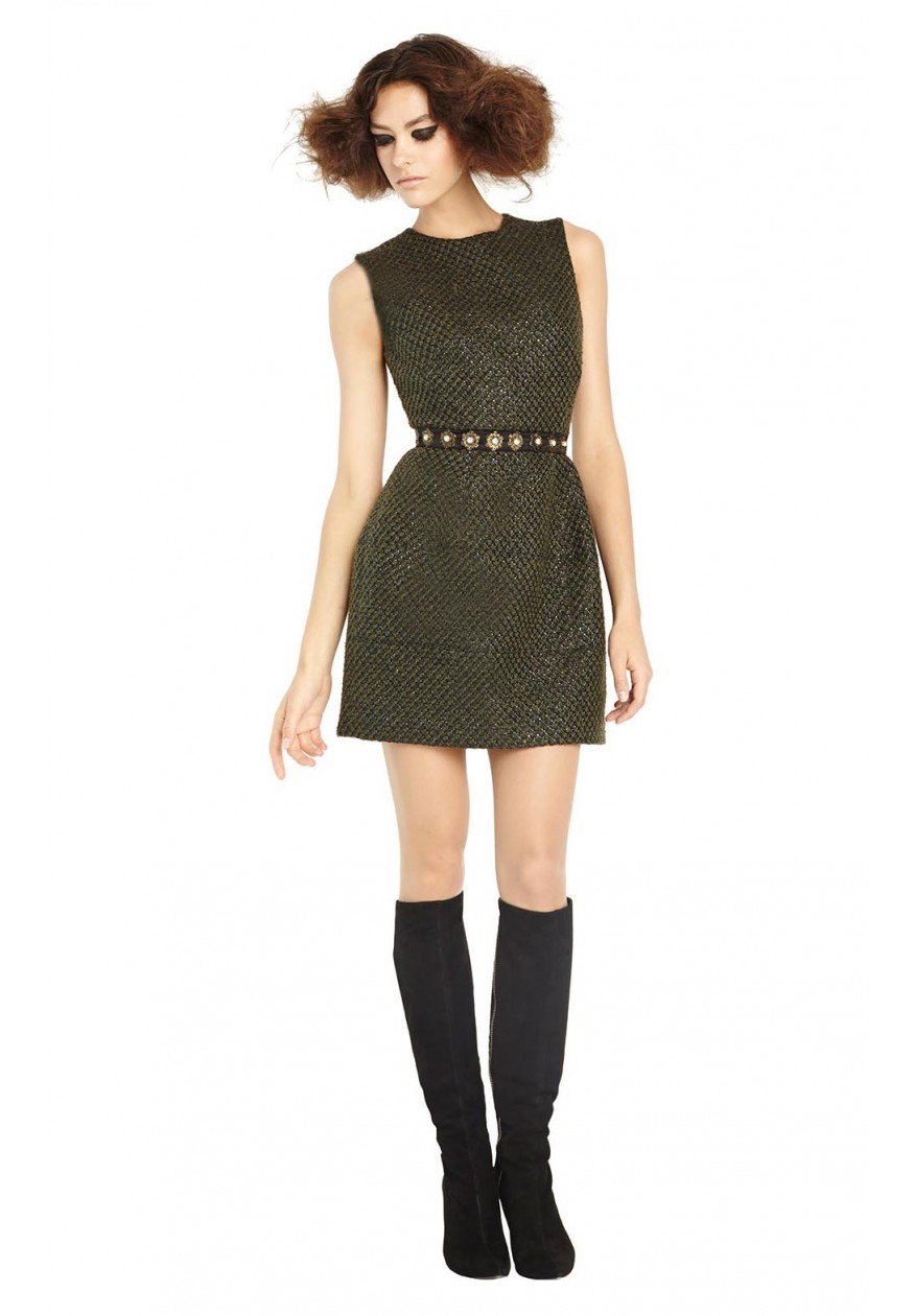 alice   olivia | HAVEN STRUCTURED DRESS