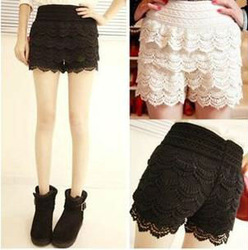 Alibaba.com - Wholesale HOTSTYLE LADY'S CROCHET SHORTS, CROCHET LACE SHORTS FOR WOMAN