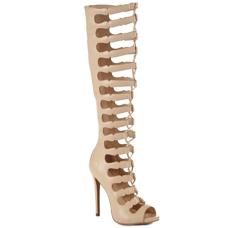 Zigi Soho MARY BETH Gladiator Sandals in Nude – FLYJANE